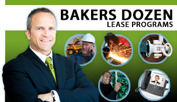 bakers dozen lease financing promotion
